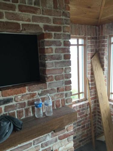 thin brick wall application